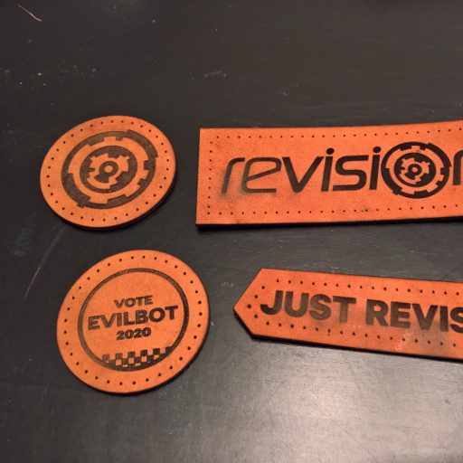Example image of custom patches